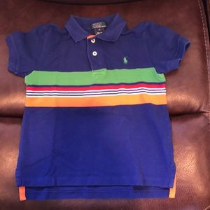 Boys size 5 Ralph Lauren polo shirt. Like new.